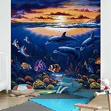 Apalis Kindertapeten Vliestapeten Dolphins World