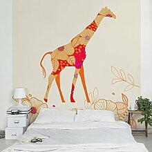 Apalis Kindertapeten Vliestapeten Floral Giraffe