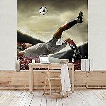 Apalis Kindertapeten Vliestapeten Fußball Action