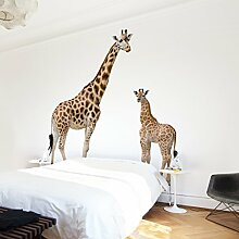 Apalis Kindertapeten Vliestapeten Giraffe Mutter