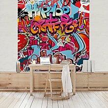 Apalis Kindertapeten Vliestapeten HipHop Graffiti