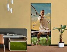 Apalis Tür Fototapete Tennis Player, Größe: