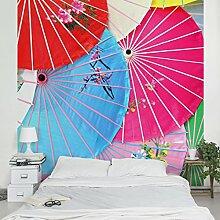 Apalis Vliestapete Chinese Parasols Fototapete