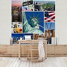 Apalis Vliestapete Impressive New York Fototapete