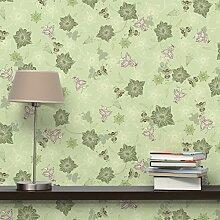 Apalis Vliestapete Mikrokosmos Fototapete Quadrat | Vlies Tapete Wandtapete Wandbild Foto 3D Fototapete für Schlafzimmer Wohnzimmer Küche | Größe: 336x336 cm, grün, 98306