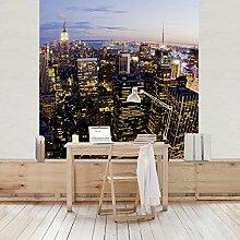 Apalis Vliestapete New York Skyline bei Nacht
