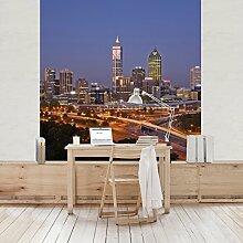 Apalis Vliestapete Perth Skyline Fototapete