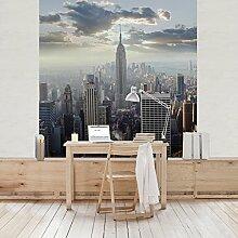 Apalis Vliestapete Sonnenaufgang in New York