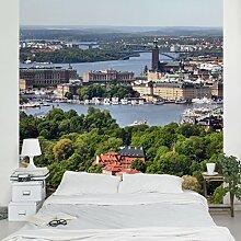 Apalis Vliestapete Stockholm City Fototapete