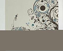 Apalis Vliestapete Vintage Meadow Fototapete Quadrat | Vlies Tapete Wandtapete Wandbild Foto 3D Fototapete für Schlafzimmer Wohnzimmer Küche | Größe: 192x192 cm, beige, 98125