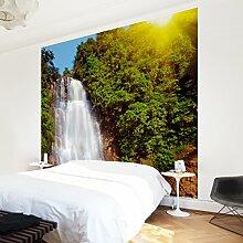 Apalis Vliestapete Wasserfall Romantik Fototapete