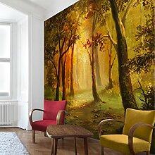 Apalis Waldtapete Vliestapete Gemälde einer