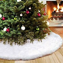 Aparty4u Weihnachtsbaum rock 122cm, Faux Pelz