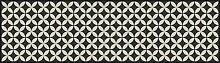 apè Design Teppich grau/schwarz 52x 140cm
