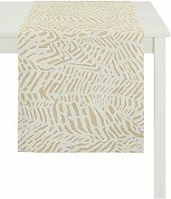 APELT 3312 _150x250_Fb. 50 Tischdecke, Polyester, gelb, 150 x 250 x 0.5 cm