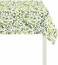 APELT 3942 88x88 40 Tischdecke, Polyester-Baumwolle, grün, 88 x 88 cm