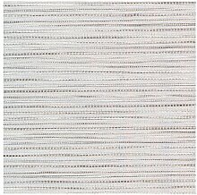 APELT 4503_140x250_28 Tischdecke Uni Struckturstreifen, weiß/grau