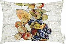 Apelt Kissenhülle mit Druckmotiv Obst Obst Größe 34x50 cm