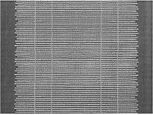 APELT Platzset Polyester anthrazit/Silber 32 x 45