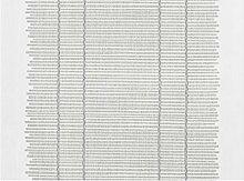 APELT Platzset, Polyester, Silber/Creme, 32 x 45 x