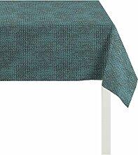 APELT Tischdecke Polyester türkis 85 x 85 x 0.3 cm