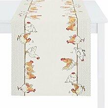 Apelt Tischläufer Hühner