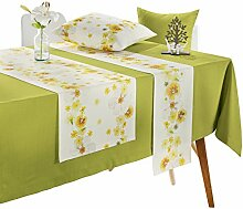 Apelt Tischläufer mit Druckmotiv natur Größe 40x140 cm