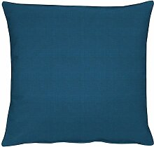 APELT Torino Kissenhülle 50x50 dunkelblau