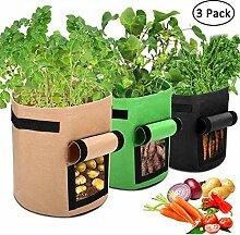 APERIL Pflanzen Tasche, Kartoffel Pflanzsack,