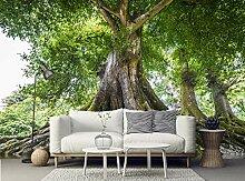apete für schlafzimmer wände Forest green tree