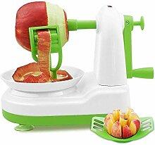 Apfelschäler für Obst, Kartoffeln und Birnen.