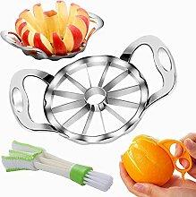 Apfelschneider + Orangenschäler +