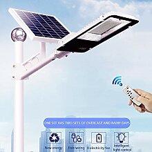 APICK Solar-Straßenleuchte LED Straßenlampe