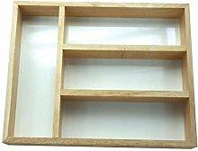 Apollo Housewares 24 x 32 cm Holz Besteckkasten,