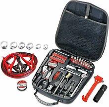 Apollo Tools P DT0101 Auto-Werkzeuge, rot, 64 pc