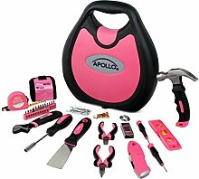 Apollo Werkzeuge dt4920p 72Haushalt Tool Kit, Spende Made To Breast Cancer Research, DT4920P