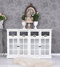 Apothekerschrank Shabby Chic Kommode Vitrine Vintage Küchenschrank Palazzo Exklusiv