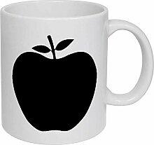 Apple' Ceramic Mug/Travel Coffee Mug