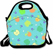 Apple Convenient Lunch Box Tote Bag Rugged Lunchbox