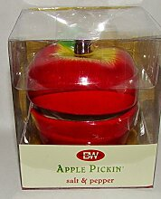 Apple gestapelt Pickin Salz & Pfeffer Shaker