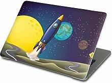 Apple MacBook Pro 13 Retina Notebook Aufkleber Folie Sticker   Notebookhülle Hülle Laptopfolie Schutz-Hülle Smart Cover   Design Motiv Space Rocke