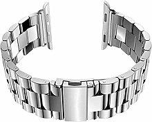 Apple Watch Armband 42mm Edelstahl Metall Strap