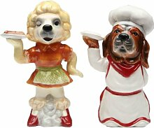 Appletree Chef Dog Salt and Pepper Shaker Set by