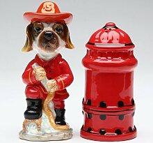 Appletree Fire Fighter Salt and Pepper Shaker Set