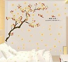 Aprikosenbaum-Wandaufkleber Des