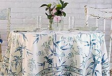 April Cornell Stoff-Tischdecke, Blumenmuster mit