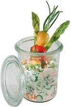 APS Einmachglas Weck, Glas, (Set, 12-tlg),