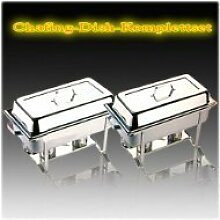 APS Set Chafing Dish Multi mit 4 GN Behälter T