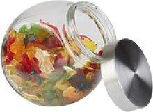 APS Vorratsglas mit Deckel, Glaskugel mit