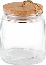APS Vorratsglas, (Set, 2 tlg.), mit Holzdeckel